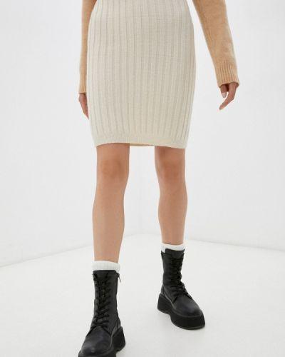 Зауженная юбка - белая By Swan