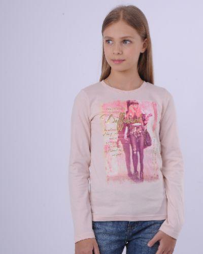 Лонгслив розовый Emoi