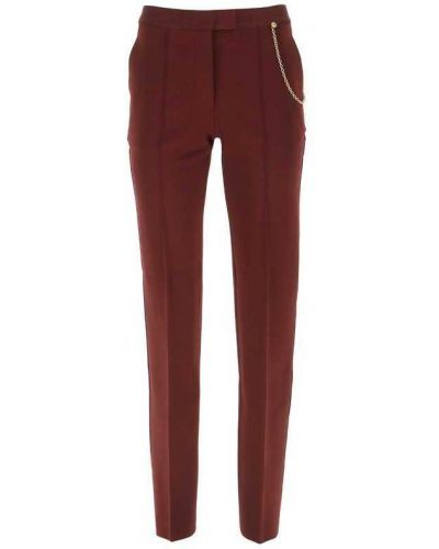 Spodnie eleganckie - brązowe Givenchy