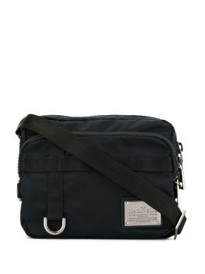 Синяя нейлоновая маленькая сумка Makavelic