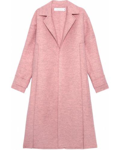 Пальто шерстяное с воротником Victoria Beckham