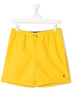Kąpielówki - żółte Ralph Lauren Kids