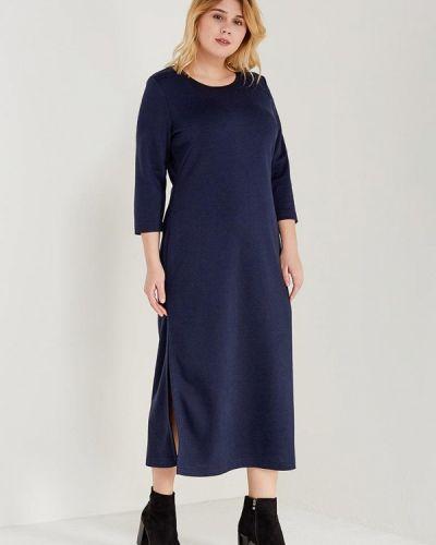 Платье весеннее синее Leshar