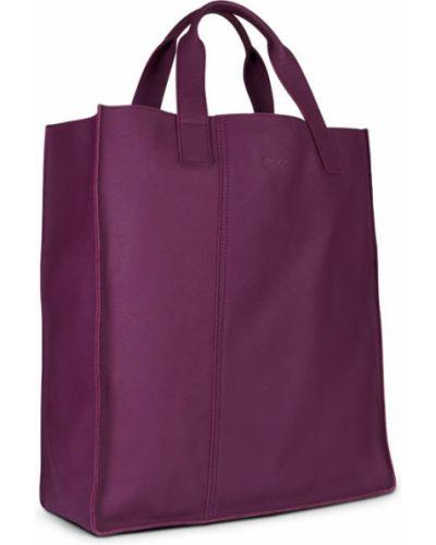 Кожаная сумка шоппер с ручками Ecco