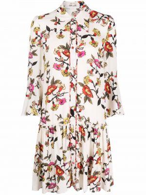 Sukienka długa w kwiaty Dvf Diane Von Furstenberg