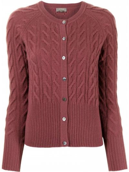 Różowy z kaszmiru sweter N.peal