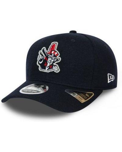 Czarna czapka wełniana New Era