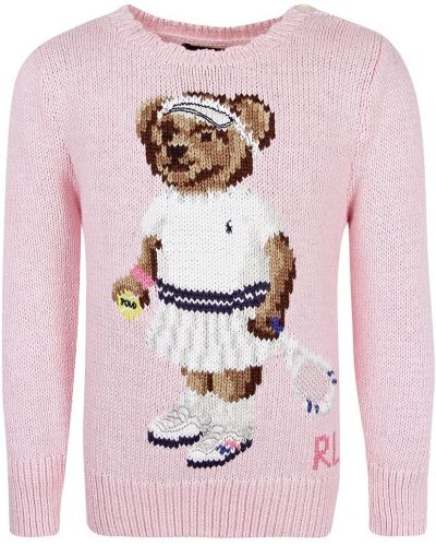 Джемпер светло-розовый Polo Ralph Lauren Kids