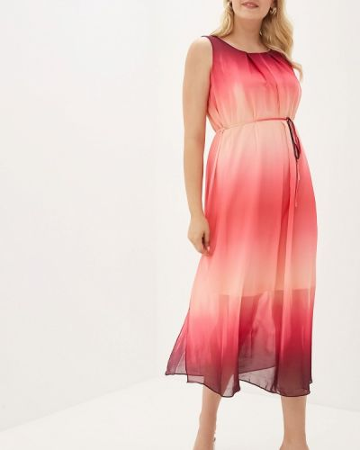 Розовое платье Evans