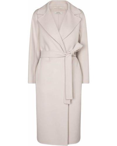 Шерстяное пальто двубортное 's Max Mara