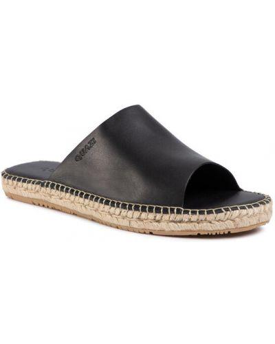 Sandały espadryle - czarne Quazi