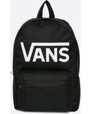 Czarny plecak w paski Vans
