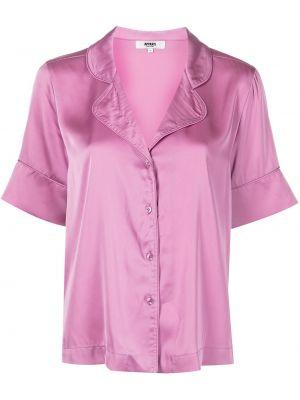 Różowa satynowa piżama Apparis
