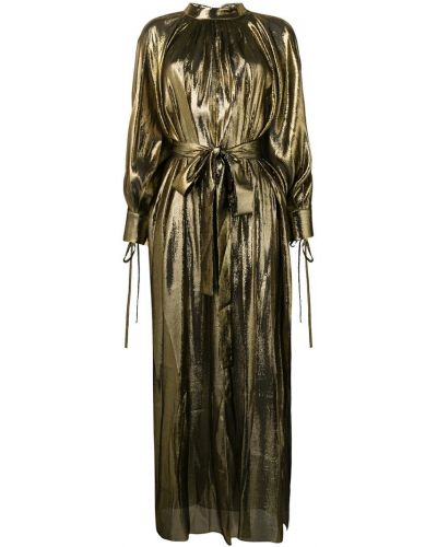 Вечернее платье с разрезами по бокам с вырезом Osman