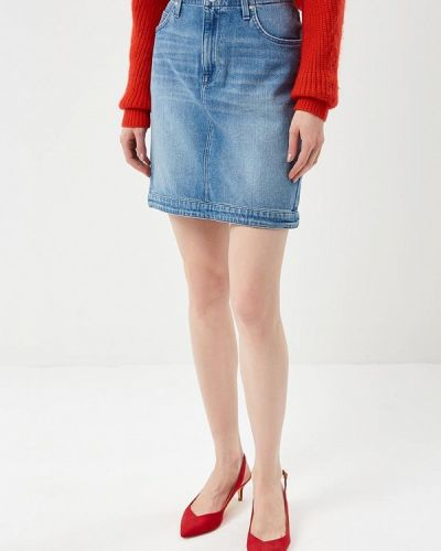 Юбка джинсовая Lee