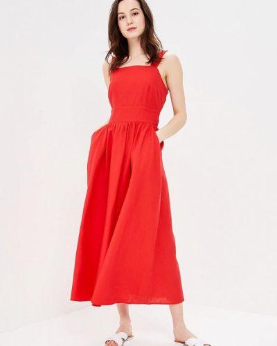Красный сарафан Baon