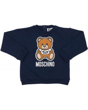 Bluza z kołnierzem Moschino