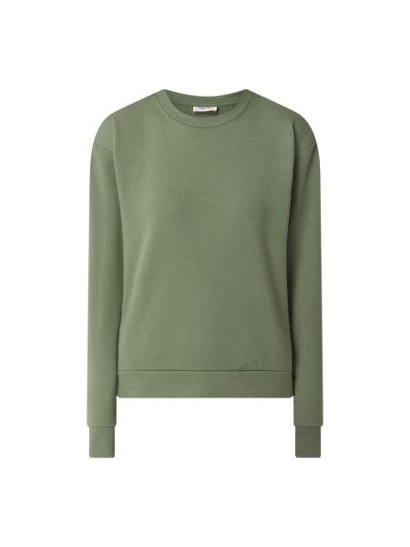Bluza bawełniana - zielona Modström