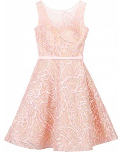 Платье мини с цветочным принтом с V-образным вырезом солнце Basix Black Label