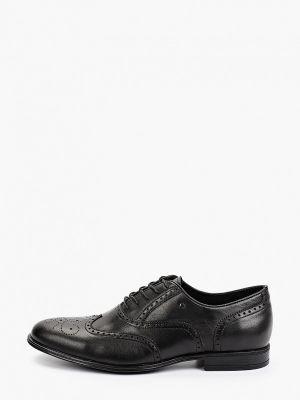 Кожаные оксфорды - черные Just Couture