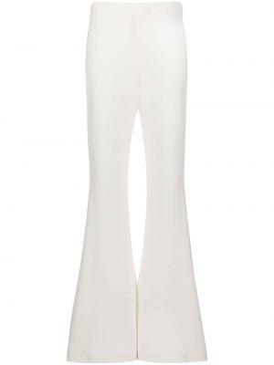 Białe spodnie rozkloszowane Ellery
