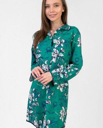 Зеленое домашнее платье Cyberjammies