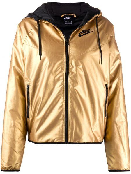Куртка с капюшоном с карманами спортивная Nike