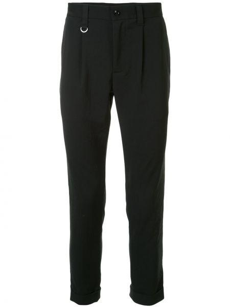 Спортивные черные спортивные брюки на пуговицах с карманами Sophnet.