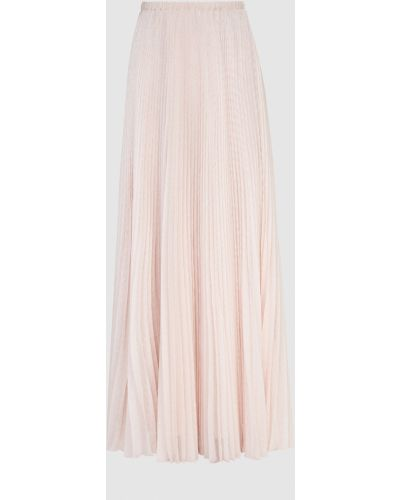 Розовая юбка макси Philosophy Di Lorenzo Serafini
