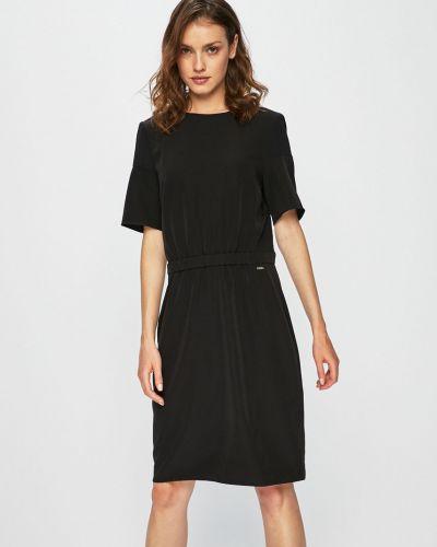 Платье мини однотонное прямое Armani Exchange