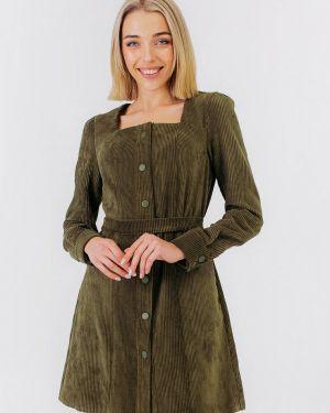 Платье осеннее прямое Bessa