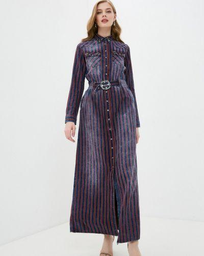 Джинсовое платье D'she