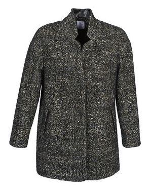 Szary płaszcz przeciwdeszczowy Alba Moda