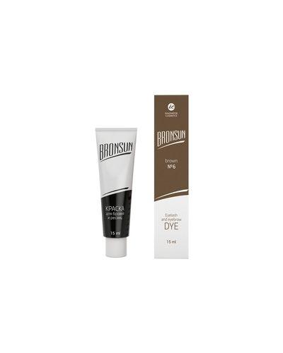 Краска для бровей, ресниц коричневый Innovator Cosmetics