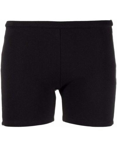Хлопковые шорты - черные Ck Calvin Klein