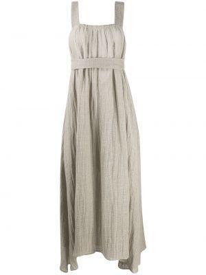 Асимметричное вязаное платье с открытой спиной квадратное Le Kasha