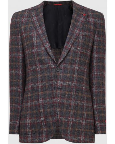 Серый пиджак Isaia