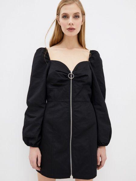 Платье прямое черное Glamorous