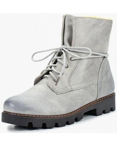 Кожаные ботинки осенние кожаные Max Shoes