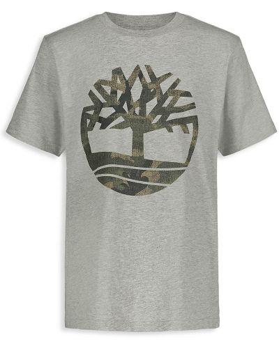 Ватная хлопковая футболка с короткими рукавами Timberland