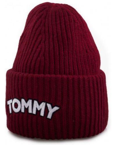 Шапка casual - красная Tommy Hilfiger