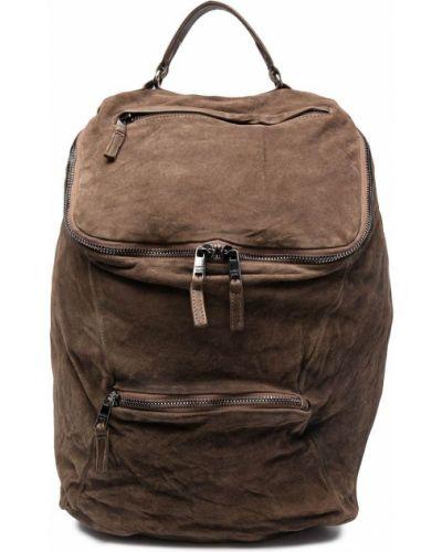 Brązowy plecak skórzany Giorgio Brato