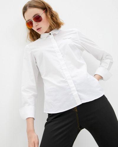 Белая рубашка с длинными рукавами Aeronautica Militare
