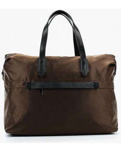 Коричневая дорожная сумка El Tempo