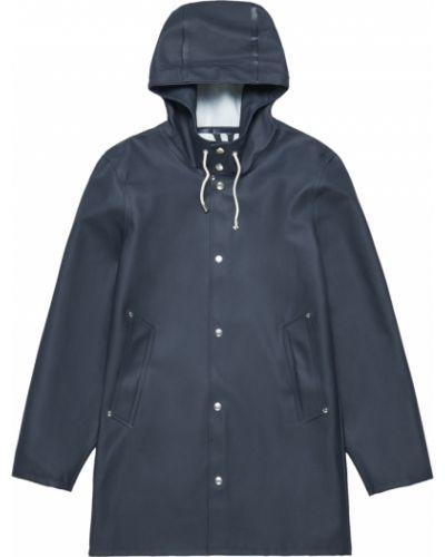 Niebieski płaszcz Stutterheim
