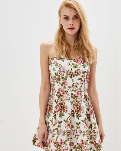 Платье прямое бежевое Irina Vladi
