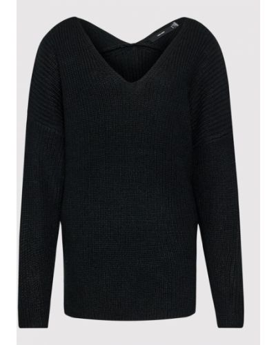 Czarny sweter Vero Moda Curve