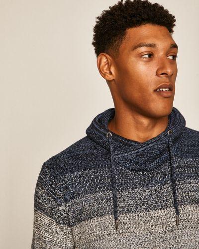 Sweter z wzorem z dzianiny Medicine