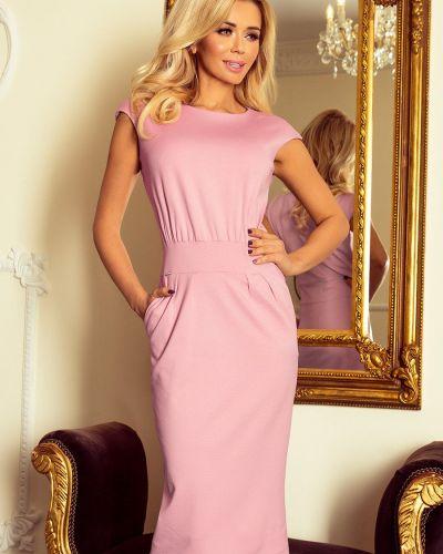 Sukienka midi materiałowa oversize Numoco