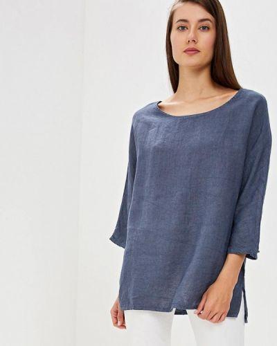 Блузка с длинным рукавом голубой итальянский Perfect J